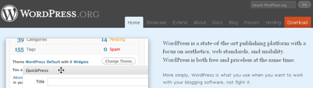 Memilih Blog, Software Blog, Blog Gratis, Website Gratis, WordPress.org