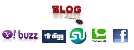 Blog Submit to Social Bookmarking Sites