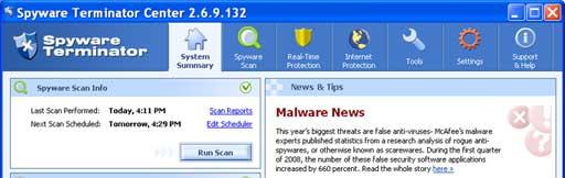 Free Spyware Terminator